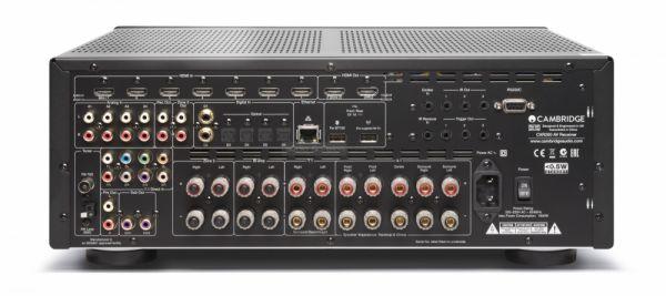 Cambridge Audio CXR200 házimozi erősítő hátlap