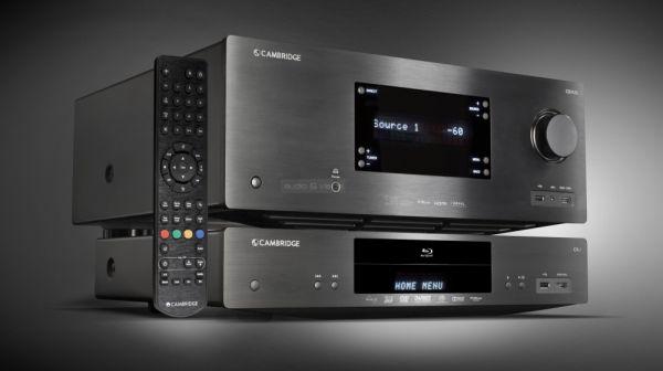 Cambridge Audio CXU Blu-ray lejátszó és CXR120 házimozi erősítő