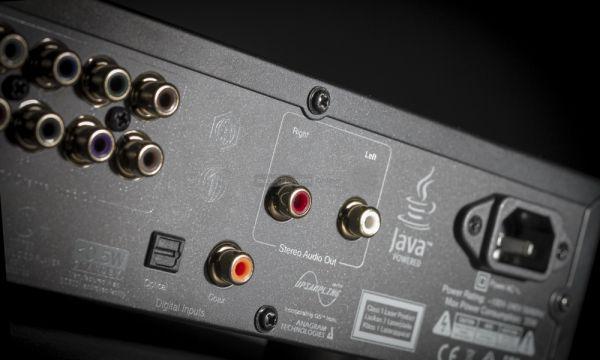 Cambridge Audio CXU Blu-ray lejátszó audio csatlakozók