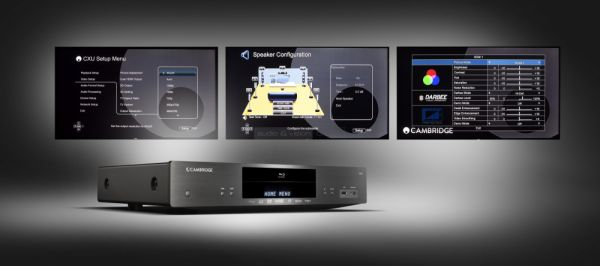 Cambridge Audio CXU Blu-ray lejátszó menü