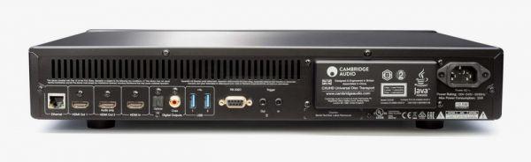 Cambridge Audio CXUHD Blu-ray lejátszó hátlap