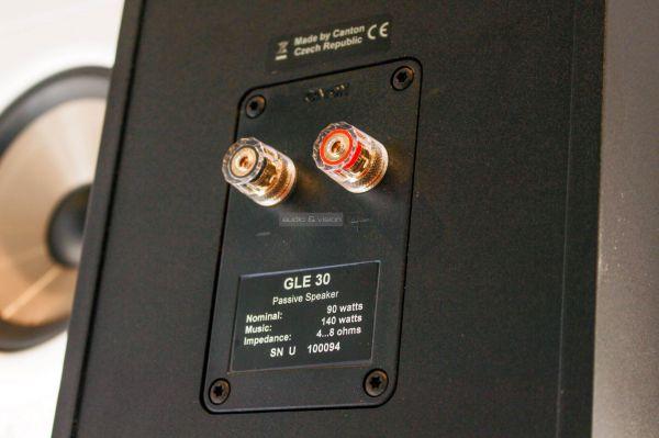 Canton GLE 30 hangfal csatlakozó