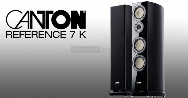 Canton Reference 7 K hangfal