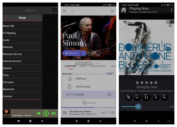 Cocktail Audio N15D App