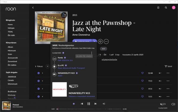 Cocktail Audio N15D hálózati zenelejátszó Roon