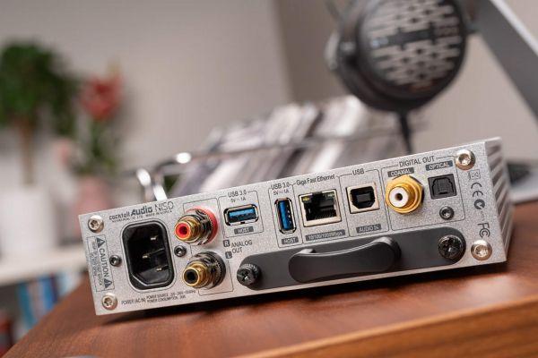 Cocktail Audio N15D hálózati zenelejátszó hátlap