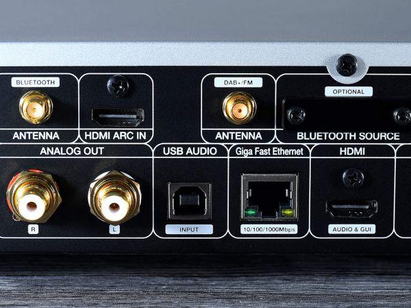 Cocktail Audio N25 hálózati zenelejátszó hátlap