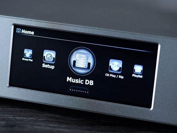 Cocktail Audio N25 hálózati zenelejátszó kijelző