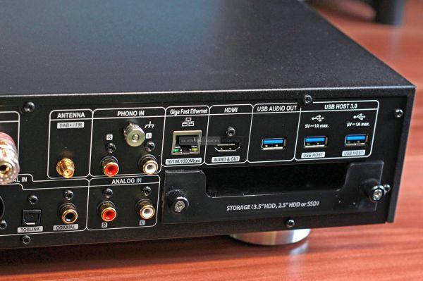 Cocktail Audio X35 all-in-one sztereó erősítő hátlap
