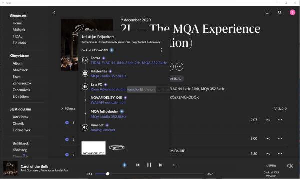 Cocktail Audio X45 hálózati zenelejátszó MQA 352 kHz