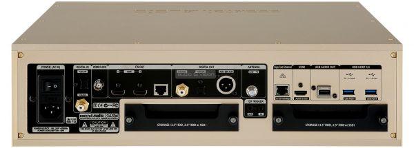 Cocktail Audio X50 Pro hálózati zenelejátszó hátlap
