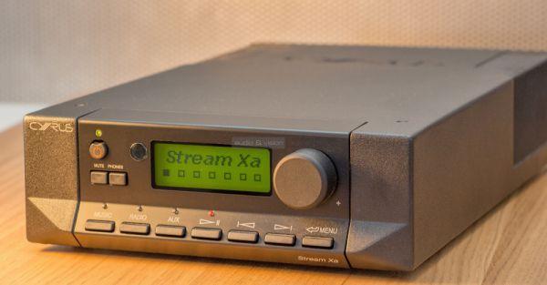 Cyrus Stream Xa hálózati zenelejátszó