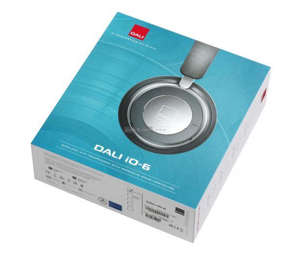 DALI IO-6 aktív zajzáras Bluetooth fejhallgató doboz