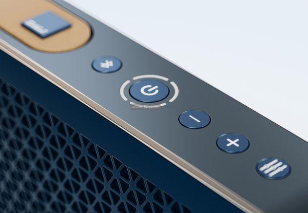 Elkészült az első DALI mobil Bluetooth hangrendszer kék