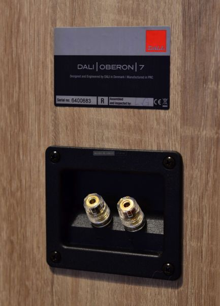 DALI OBERON 7 hangfal csatlakozó
