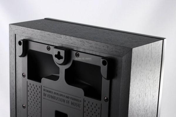 DALI OBERON ON-WALL C aktív hangfal hátlap