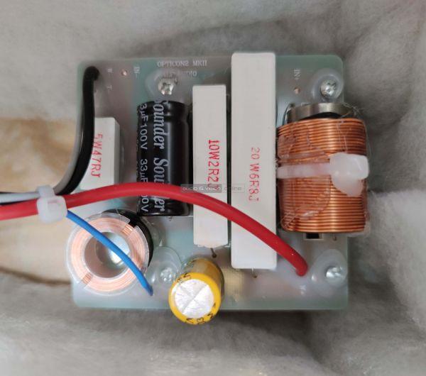 DALI OPTICON 2 MK2 hangfal keresztváltó