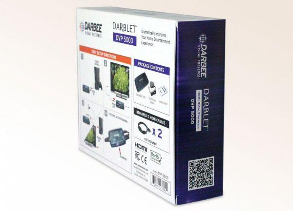 Darbee Darblet DVP-5000 képjavító processzor doboza
