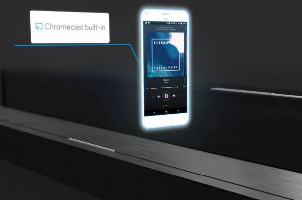 Definitive Technology Studio Slim soundbar Chromecast