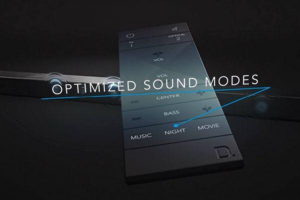 Definitive Technology Studio Slim soundbar távvezérlő