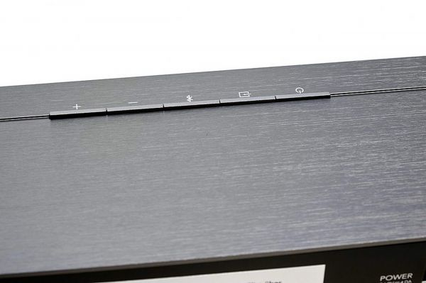 Definitive Technology Studio Slim soundbar control