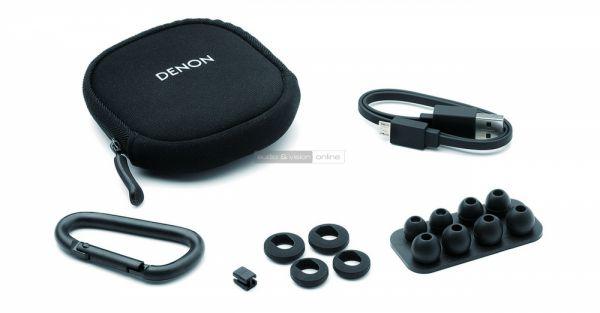 Denon AH-C160W Bluetooth sportfülhallgató tartozékok