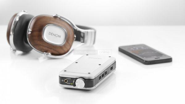Denon AH-MM400 mobil hifi fejhallgató és DA-10 mobil DAC és fejhallgató erősítő