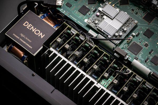 Denon AVC-X6700H házimozi erősítő Transformer and Power Amplifiers