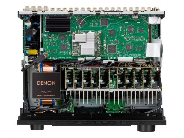Denon AVC-X6700H házimozi erősítő hátlap