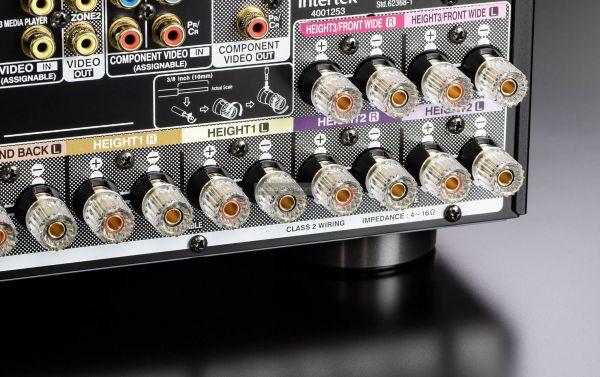 Denon AVC-X6700H házimozi erősítő hangfal csatlakozó