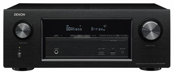 Denon AVR-X2300W házimozi erősítő fekete