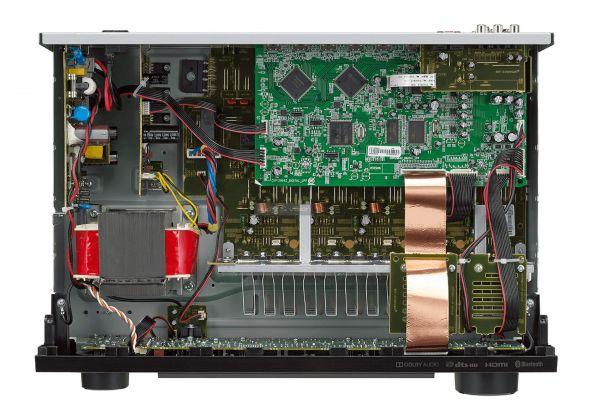 Denon AVR-X250BT házimozi erősítő belső