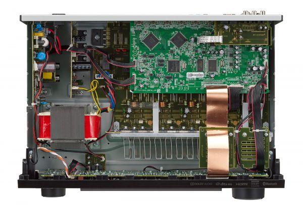 Denon AVR-X550BT házimozi erősítő belső