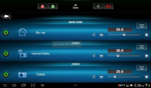 Denon AVR-X4200W házimozi erősítő Remote App