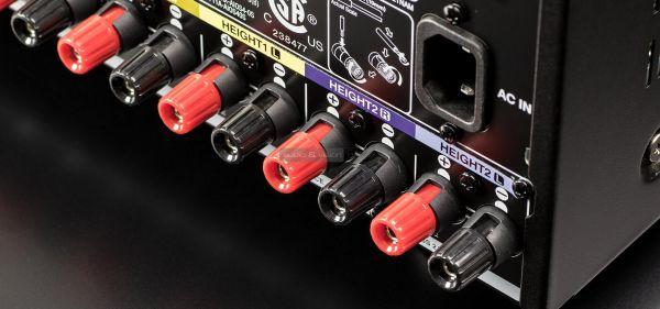 Denon AVR-X4500H házimozi erősítő hátlap