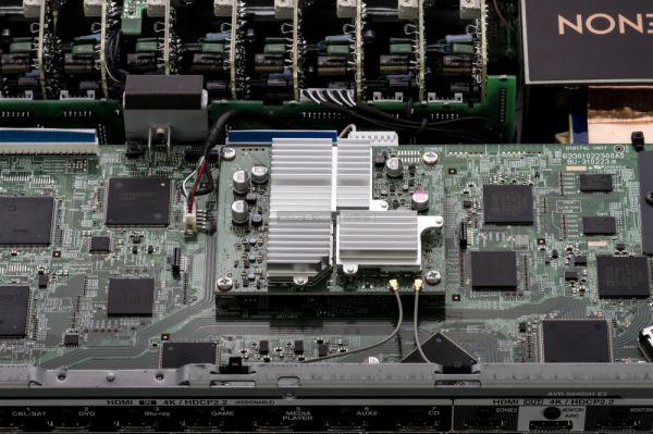 Denon AVR-X6400H házimozi erősítő belső