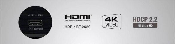 Denon AVR-X6400H házimozi erősítő HDMI