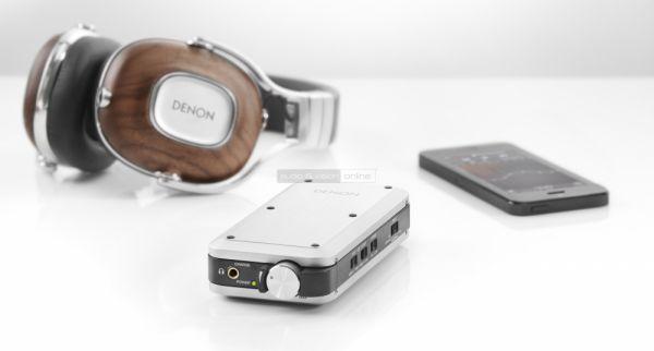 Denon DA-10 USB DAC és fejhallgató erősítő