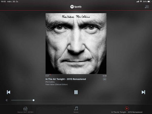 Denon DHT-S516H App Spotify