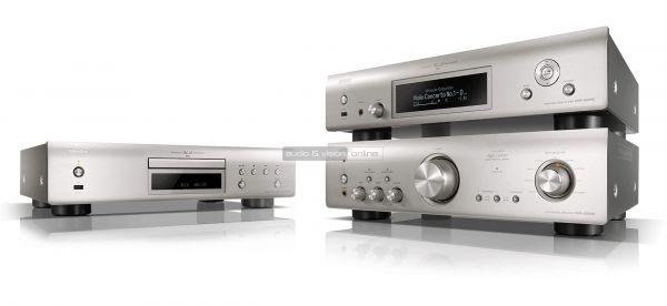 Denon DNP-800NE hálózati zenelejátszó és PMA-800NE sztereó erősítő