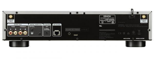 Denon DNP-800NE hálózati zenelejátszó hátlap