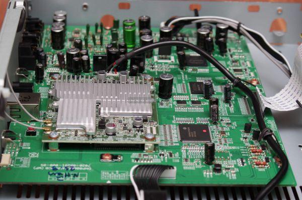 Denon DNP-800NE hálózati zenelejátszó belső