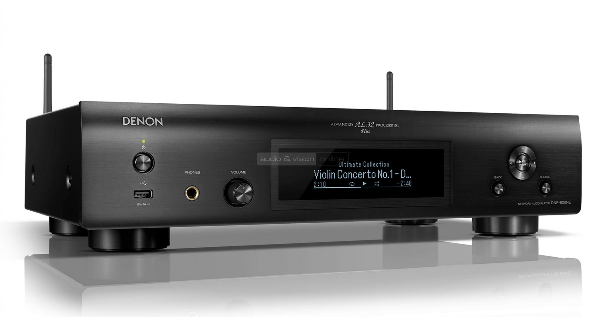 Denon DNP-800NE hálózati zenelejátszó teszt