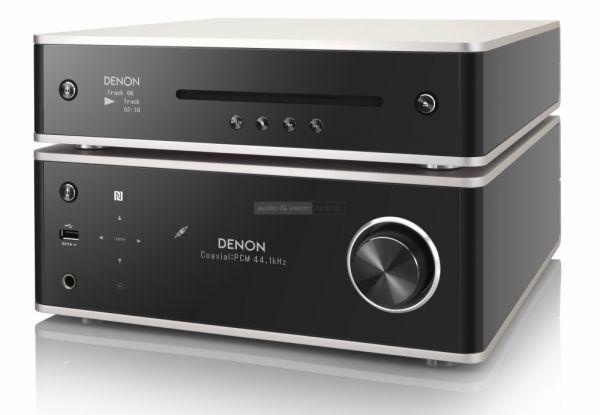 Denon DRA-100 sztereó erősítő és DCD-100 CD-lejátszó