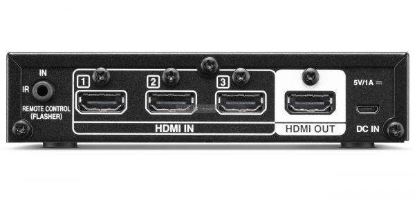Denon AVS-3 HDMI switcher hátlap