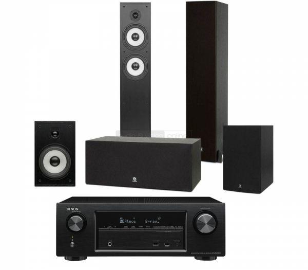 Denon AVR-X1200W és Boston Acoustics CS260 MKII 5.0 hangfalszett