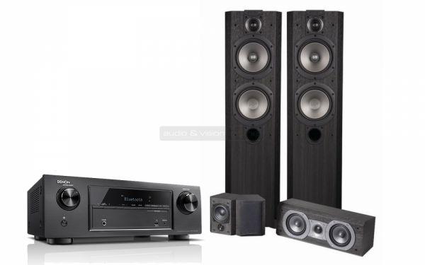Denon AVR-X520BT és Wharfedale Vardus 300HCP 5.0 hangfalszett