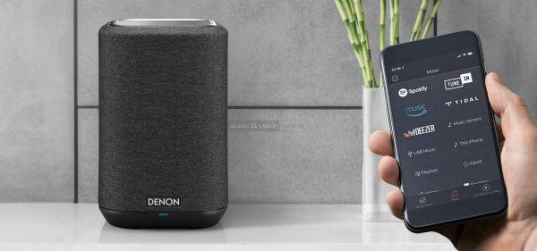 Denon Home 150 multiroom hangszóró App