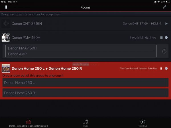 Denon Home 250 App