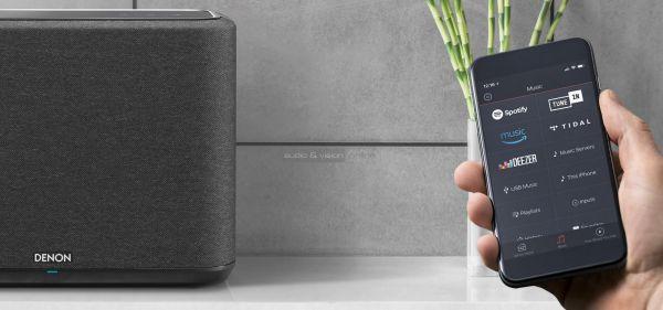Denon Home 250 multiroom hangszóró App